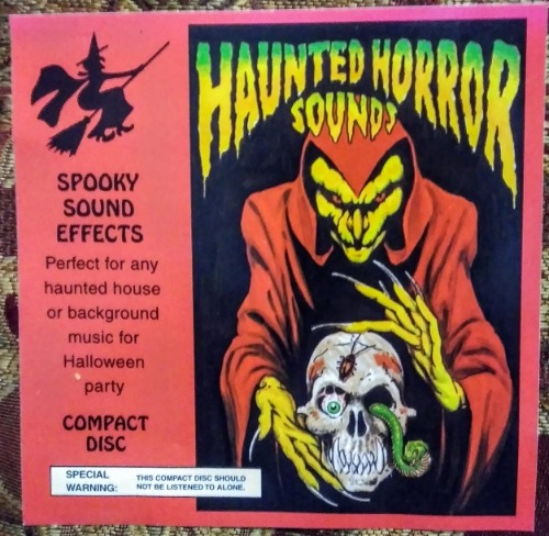 haunted horror sounds spooky sound effects cd