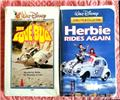 The Love Bug and Herbie vhs