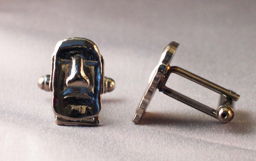 Easter island head cufflinks.jpg
