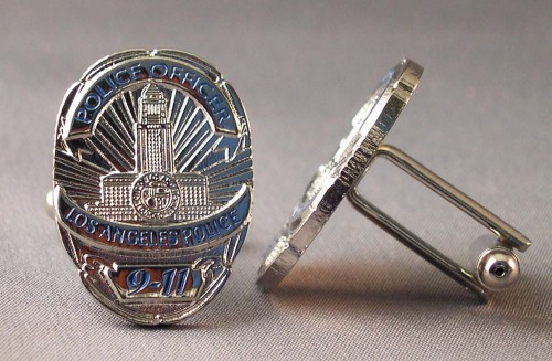 La Police badge cufflinks.jpg