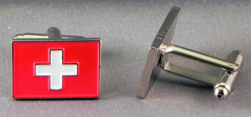 Swiss flag cufflinks.jpeg