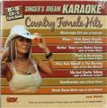 Country Female Hits, Singer's Dream Karaoke CD and Lyric Book, New Sealed