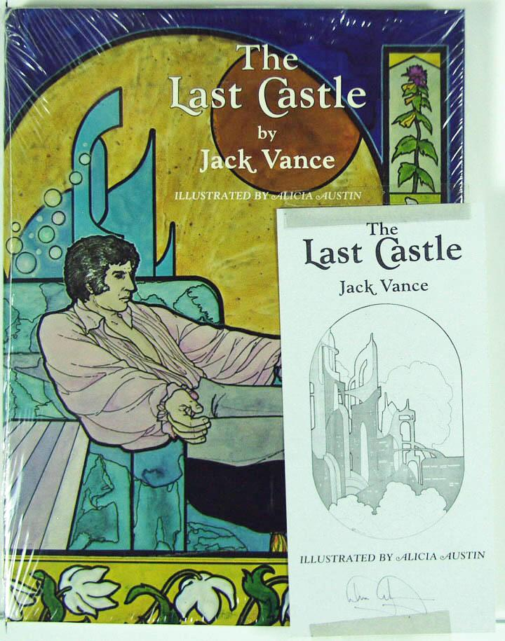 The Last Castle by Jack Vance 1980 Sealed Copy W/ Signed Book Plate, Hardback
