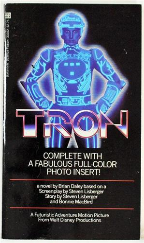 Tron by Brian Daley 1982 Del Rey Paperback