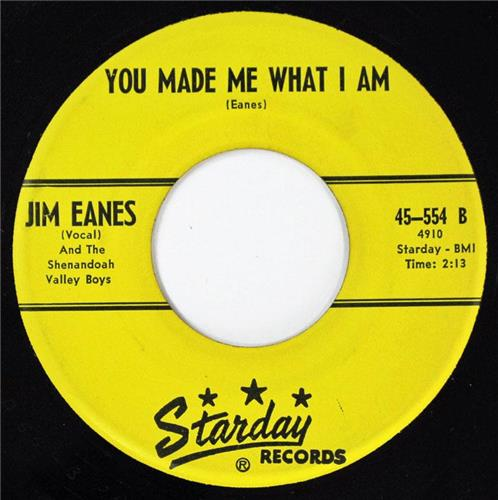 Jim Eanes, Mary Was A Little Lamb - You Made Me What I Am, Starday 554