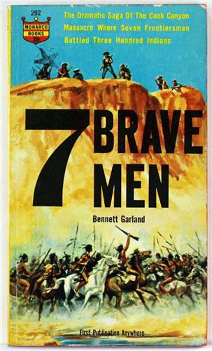 Seven Brave Men by Bennett Garland 1962 Monarch Books Paperback 292