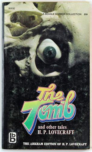 The Tomb and Other Tales by H. P. Lovecraft 1970 Beagle Books Paperback