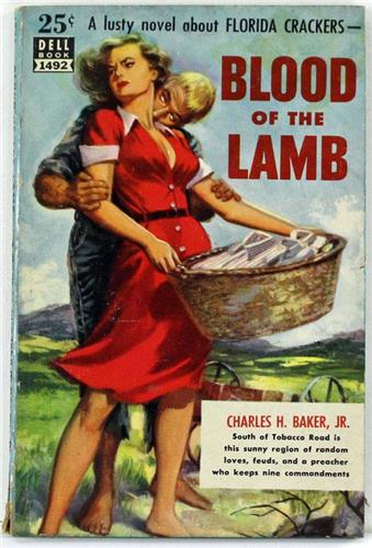 Blood of the Lamb by Charles H Baker 1946 Dell Paperback 1492