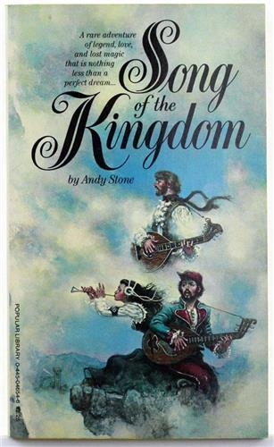 Song of the Kingdom by Andy Stone 1979 Popular Library Paperback