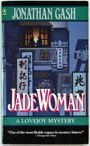 Jade Woman, A Lovejoy Mystery by Jonathan Gash 1990 Penguin Paperback