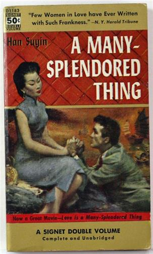 A Many-Splendored Thing by Han Suyin 1955 Signet Paperback D1183