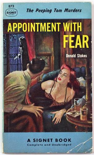 Appointment with Fear by Donald Stokes 1951 Signet Paperback 873
