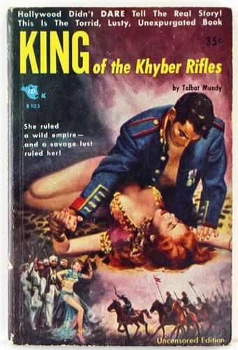 King of the Khyber Rifles by Talbot Mundy 1944 Beacon Book Paperback 105