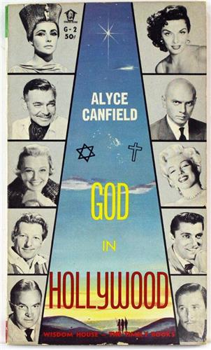 God in Hollywood by Alyce Canfield 1961 Wisdom House Paperback G-2
