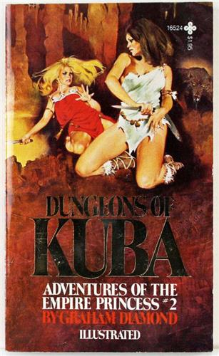 Dungeons of Kuba No. 2 by Graham Diamond 1979 Playboy Press Paperback