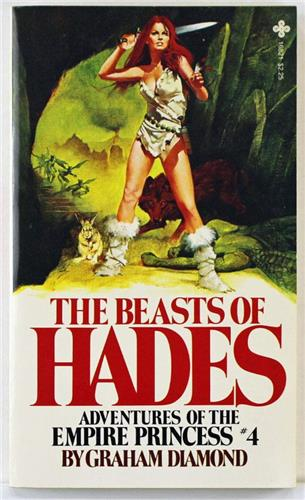 The Beasts of Hades by Graham Diamond 1981 Playboy Press Paperback