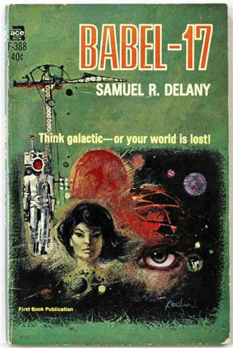Babel-17 by Samuel R. Delany 1966 Ace Paperback F-388