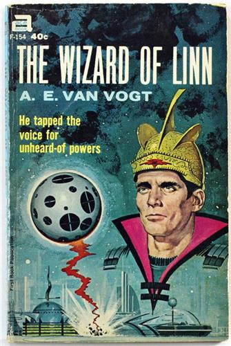 The Wizard of Linn by A. E. Van Vogt 1962 Ace Paperback F-154