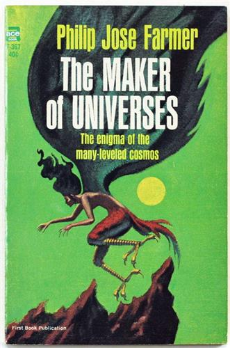 The Maker of Universes by Philip Jose Farmer 1965 Ace Paperback F-367