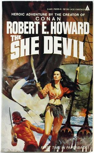 The She Devil by Robert E. Howard 1983 Ace Paperback