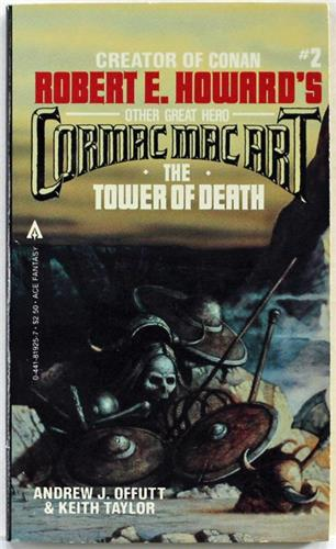 The Tower of Death by Keith Taylor and Andrew J. Offutt 1982 Ace Paperback