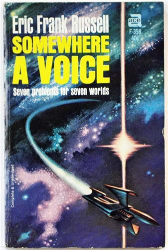 Somewhere a Voice by Eric Frank Russell 1965 Ace Paperback F-398