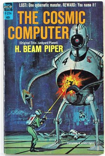 The Cosmic Computer by H. Beam Piper 1963 Ace Paperback F-274