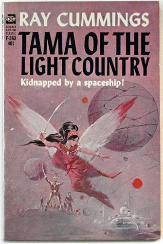 Tama Princess of the Light Country by Ray Cummings 1965 Ace Paperback F-363
