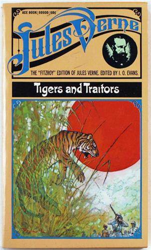 Tigers and Traitors by Jules Verne 1969 Ace 80900 Paperback