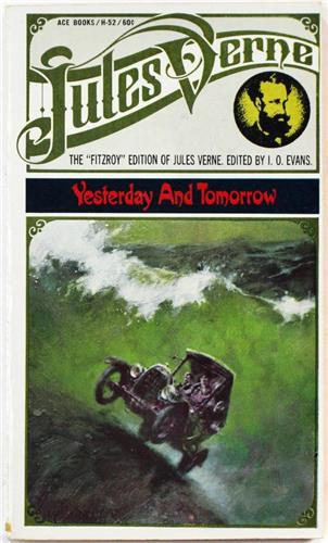 Yesterday and Tomorrow by Jules Verne 1968 Ace H-52 Paperback