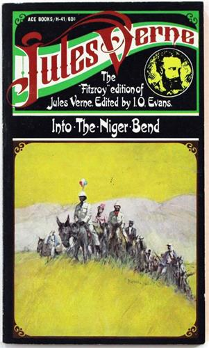 Into the Niger Bend by Jules Verne 1968 Ace H-41 Paperback