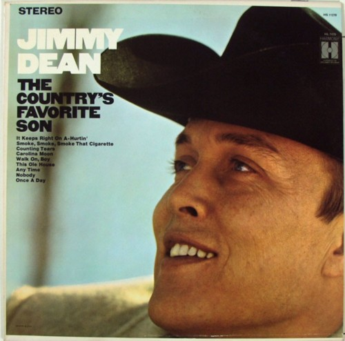 JIMMY DEAN Country's Favorite Son Harmony LP 11270