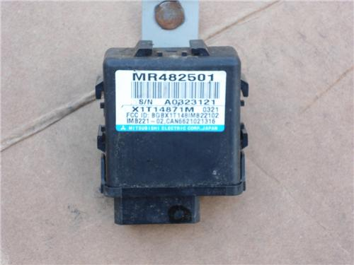 00-05 Mitsubishi Eclipse Theft Control Immobilizer Unit Module ECU MR482501 3g