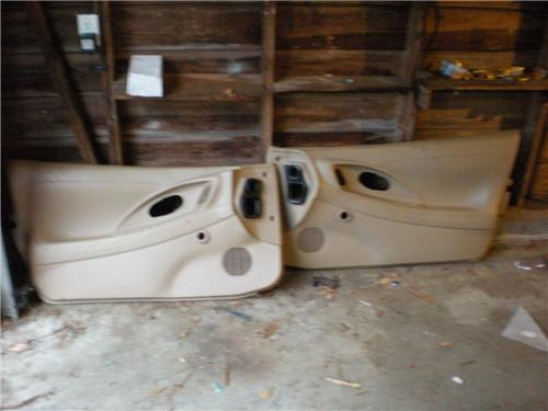 95-99 Mitsubishi Eclipse Talon Tan Interior Manual Door Panels 2g 96 97 98