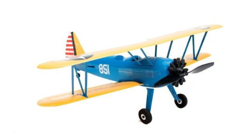EFlite EFLU3080 UMX PT-17 AS3X BNF RC Airplane #1