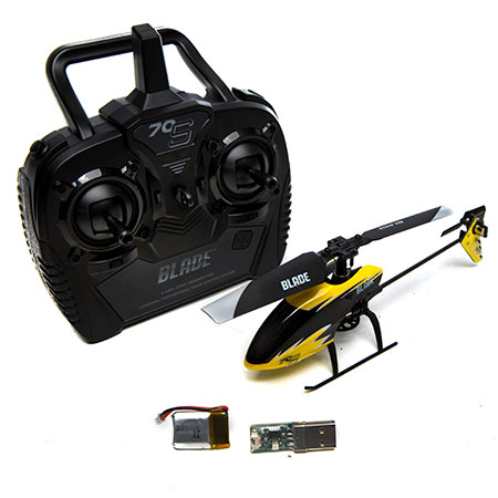 Eflite BLH4200 Blade 70 S Micro Electric RTF RC Helicopter #10