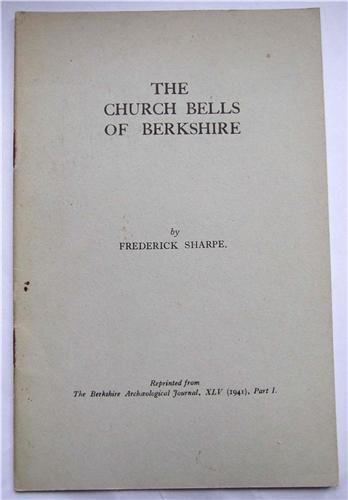 The Church Bells of Berkshire, XLV (1941) part I, by Frederick Sharpe
