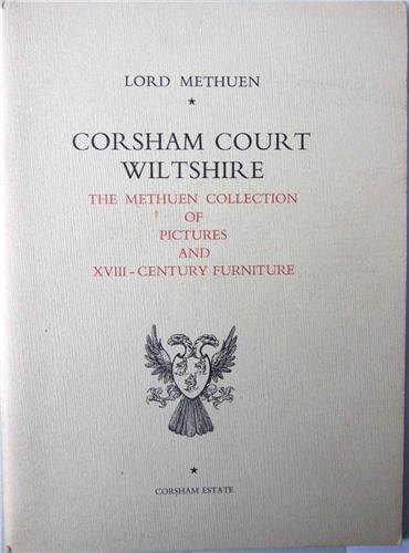 Booklet/catalogue  Corsham Court, Wiltshire, Lord Methuen, Pictures & Furniture