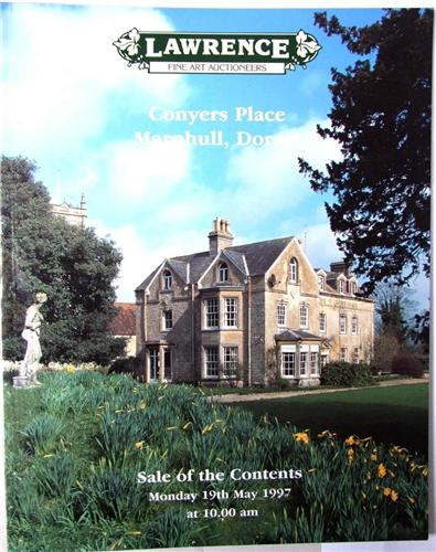 Lawrence auction catalogue, Conyers Place, Marnhull, Dorset, May 1997.