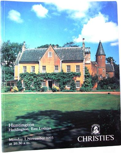 Christies auction catalogue, Huntington, Haddington, East Lothian, November 1993