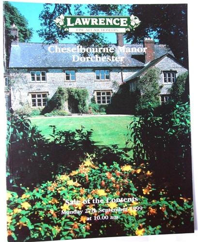 Lawrence auction catalogue, Cheselbourne Manor Sale of Contents September 1999.
