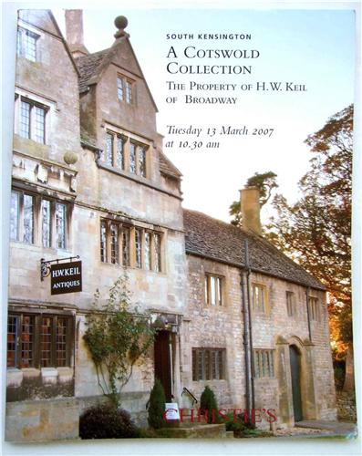 Christie's Catalogue  A cotswold Collection Property of H W Kei of Broadwayl, 13 March 2007 oak