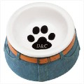 Blue Jean Ceramic Pet Bowl.jpg