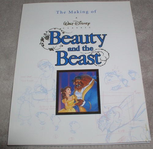 Beauty & Beast Collectors Making of the Disney movie Book
