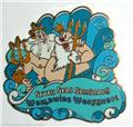 King Triton King Neptune Authentic Disney Little Mermaid Pin no card
