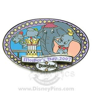 Disney DLR - Mother's Day 2007 - Dumbo pinpins