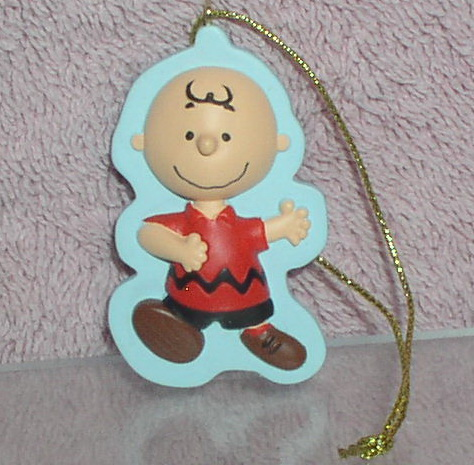 Peanuts Charlie Brown full body with a smile ornament