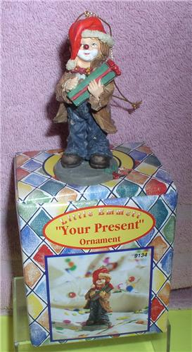 Emmett Kelly Jr. circus clown Little Emmett Your Present ornament
