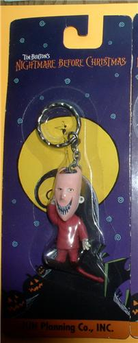 Nightmare Before Christmas Lock carded key chain Japan Jun Planning