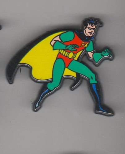 Batman Sidekick Robin made In England UK European pinpins
